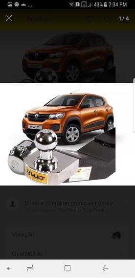 Engate Reboque Renault Kwid ,+ Brinde Protetor De Carter