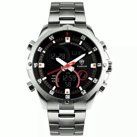 Relógio Masculino Barato Analógico Tuguir Anadigi Tg1146