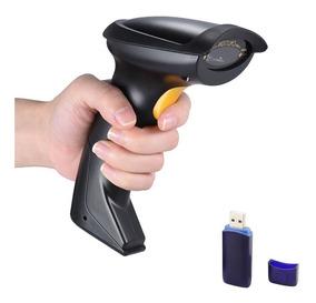 Leitor Wireless Cód Barra Bancario Laser Sem Fio Usb 5600