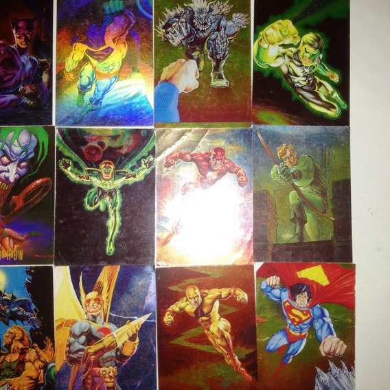 Tarjetas Pepsicard Dc Comic (108 Diferentes Mas 1 Holograma)