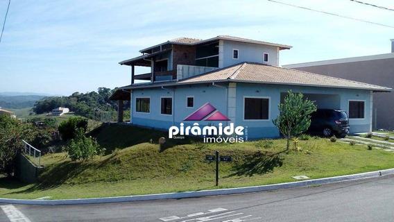 Casa Com 4 Dormitórios À Venda, 291 M² Por R$ 850.000 - Quinta Dos Lagos - Paraibuna/sp - Ca3671
