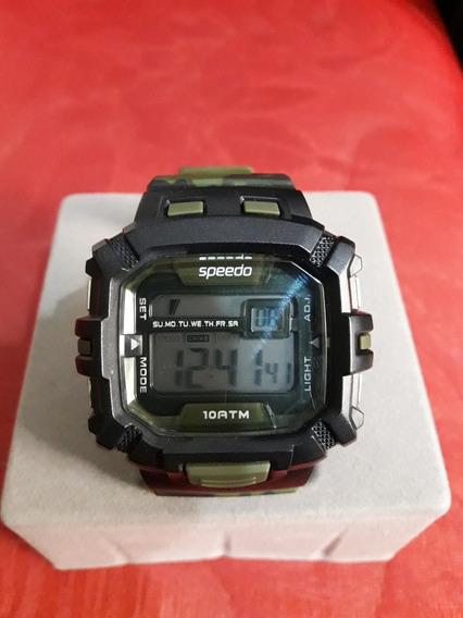 Relógio Digital Camuflado Speedo (usado)