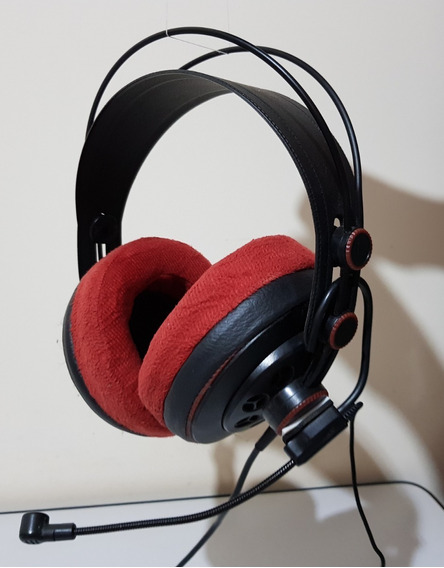 Fone Headset Superlux Hd681 Microfone Earpad Veludo Hd 681