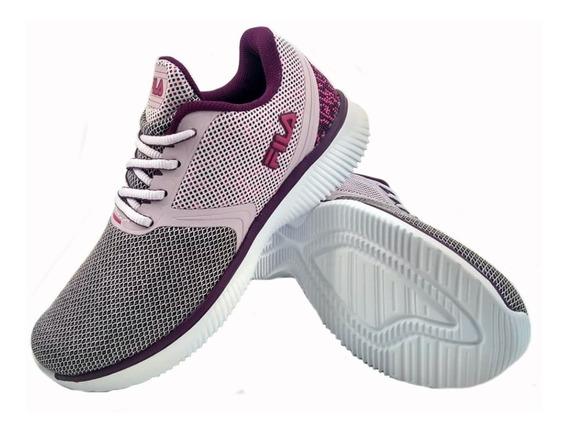 Zapatillas Fila Sweet Lila Purpura Running Mujer Eezap