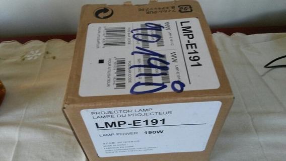 Lâmpada Para Projetor Sony Original Lmp-e191