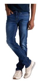 Calça Jeans Levis 511 Slim Masc Azul Média