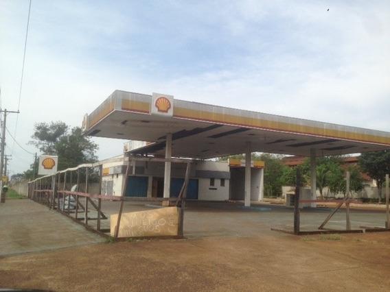 Posto De Gasolina Com Terreno - 1594l