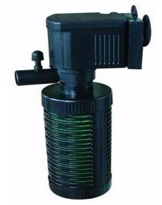 Bomba Submersa C/ Filtro. Oxigena E Filtra A Água. 200 Lt/h