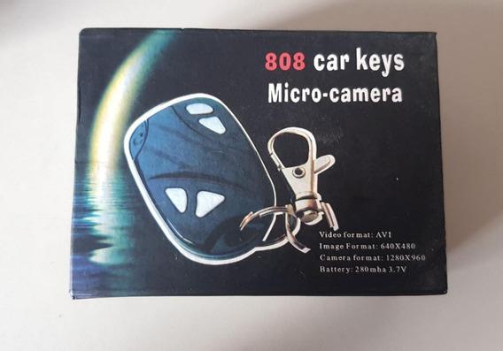 Chaveiro De Carro Espião Micro Câmera Avi Usb P/ Concerto