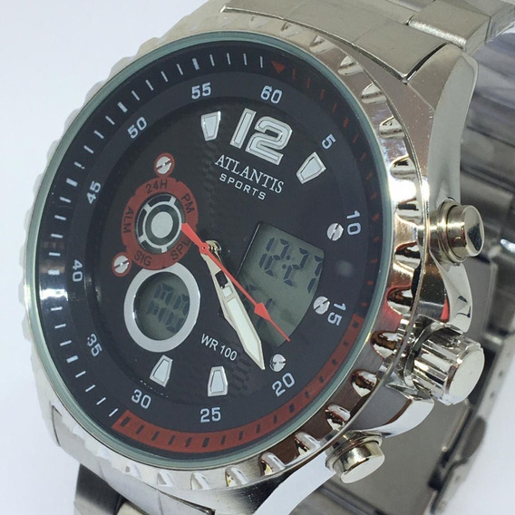 Relógio Masculino Atlantis Sports Analógico Digital