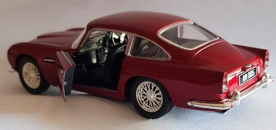 Auto 1963 Aston Martin Db5 Colección Juguete Rdf1 Kinsmart