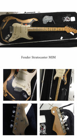 Guitarra Fender Mexicana Customizada - Eric Clapton Blackie