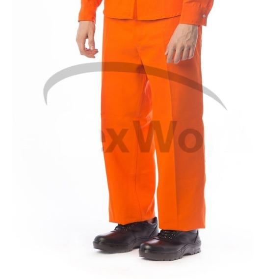Pantalon De Trabajo Gabardina 100% Algodon Reforzado