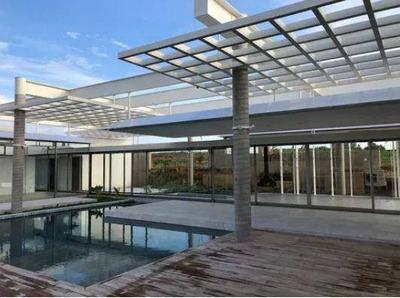 Casa Com 4 Dormitórios À Venda, 450 M² Por R$ 5.200.000 - Loteamento Residencial Entre Verdes (sousas) - Campinas/sp - Ca5682