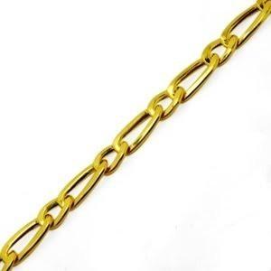 Pulseira Elos Grumet 1x1 Ouro 18k 20cm