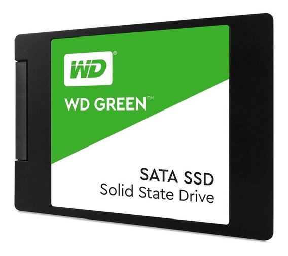 Ssd De 240gb Western Digital Green Wds240g2g0a 545/465mb/s