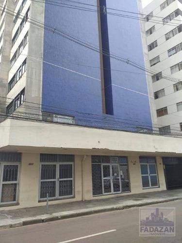 Imagem 1 de 30 de Apartamento Com 1 Dormitório Para Alugar, 45 M² Por R$ 850,00/mês - Centro - Curitiba/pr - Ap0494