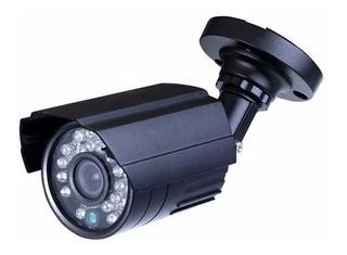 Camera De Segurança Ebn Infra 26 Leds 1/3 Digital 600l Preta