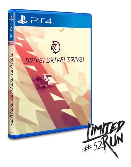 Drive! Drive! Drive! Ps4 Americano Codigo 12 Digitos Psn