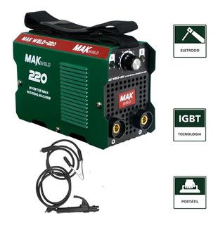 Máquina De Solda Inversora Weld-220 Makweld 160a 220v