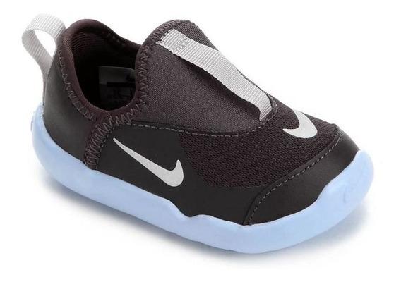 Tênis Nike Lil Swoosh Cinza Original C/nota Fiscal