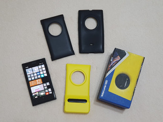 Nokia Lumia 1020 + Capas - Cor Preta - Funcionando Perfeito