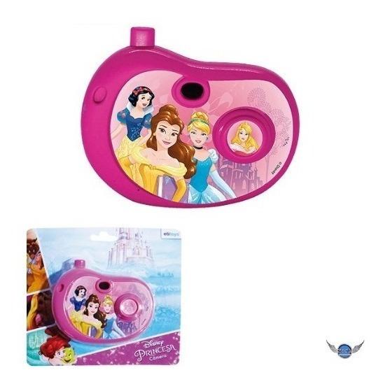 Camera Fotografica Infantil Com Imagem Princesas Brinquedo