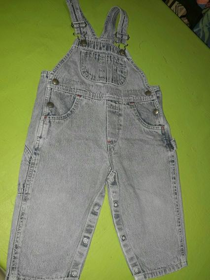 Jardinero De Jeans Gap Unisex Talle L