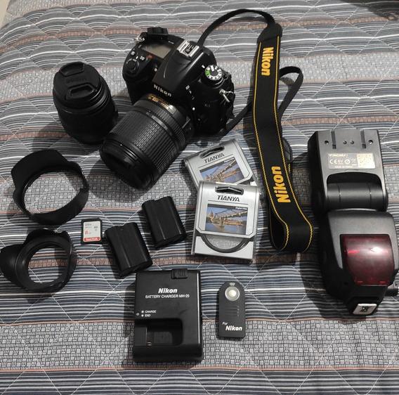 Câmera Fotográfica Nikon D7000