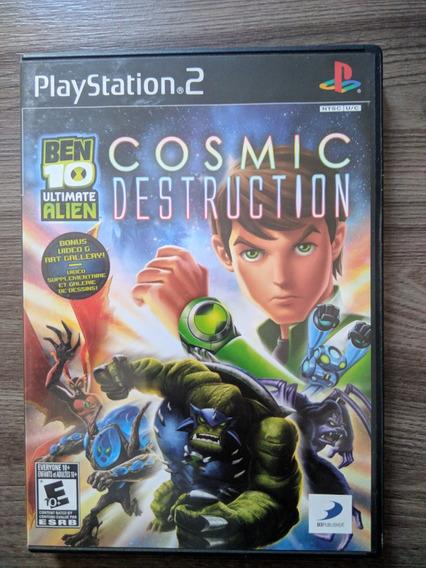 Ben 10 Ultimate Alien: Cosmic Destruction - Ps2 Original