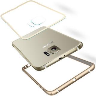 Capa Metal Aluminio Galaxy S6 Capinha Case Bumper + Pelicula