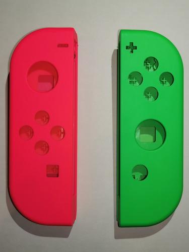 Carcasa De Repuestos Para Joy-con Rosa-verde