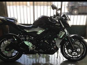 Yamaha Mt-03 Preta - 2016/2017 - 5200km