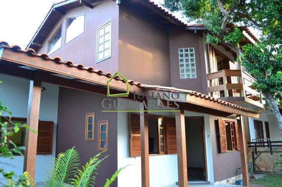 Linda Casa Na Praia Dos Ingleses Com 4 Dormitórios, Residencial Á Venda, Florianópolis. - Ca00139 - 32912184