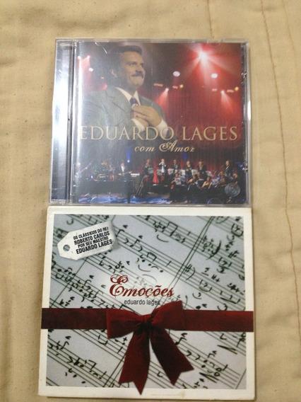 Lote De Cds - Eduardo Lajes - 2 Cds (roberto Carlos)