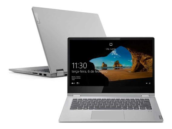 Notebook Lenovo 2 Em 1 Ideapad C340 I7-8565u 8gb 256gb Ssd Win10 14 Fhd Ips - 81rl0001br