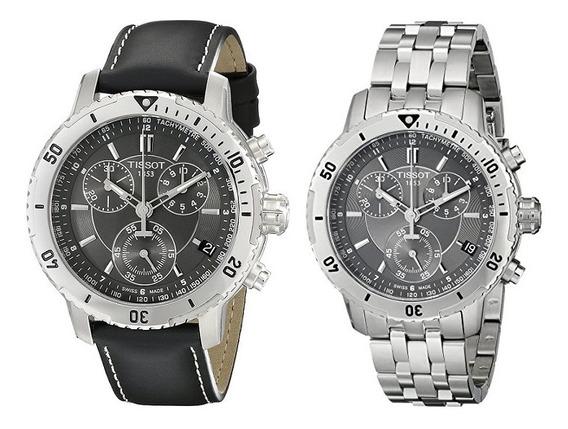 Reloj Tissot Prs 200 Gris 2en1