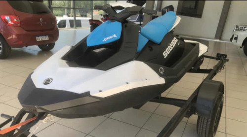 Moto De Agua Sea Doo Spark 90 Hp (5 Hs De Uso) Con Trailer