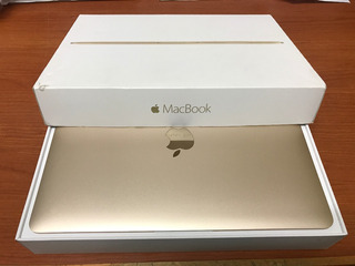 Macbook 12 Retina 8 256gb Core M 2015 Dorada