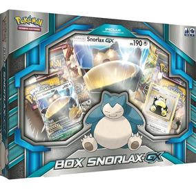Cartas - Pokemon - Box Snorlax-gx Copag Da Amazonia