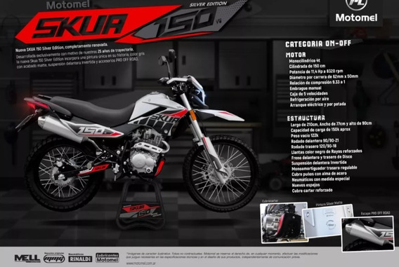 Skua Silver Edition 650km Reales Unico Dueño 6 Cuotas S/int