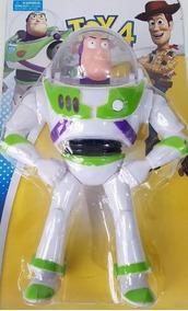 Boneco Buzz Lightyear E Woody Toy Story Som E Luz