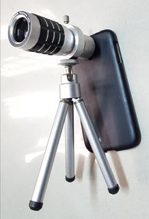 Lente Luneta Camera Zoom 12x Para Celular Samsung Galaxy S4