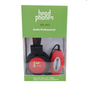 Fone De Ouvido Headphone Radio/usb/mini Sd/fm 2025 - Isis