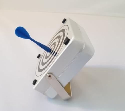 Mini Blanco Metalico Oficina Con Porta Papeles