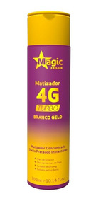 Matizador 4g Turbo Magic Color Branco Gelo 300ml