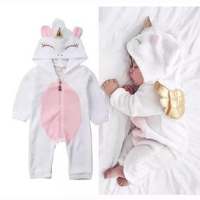 Macacão Bebê Animais Fantasia Unicórnio Frio Promoção Barato