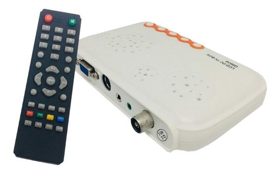 Tv Monitor Lcd Pal Ntsc Vga Sintonizadora De Tv Externa Full Hd Ve La Tv En Un Monitor De Pc