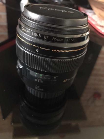 Lente 85 Mm F1.8 Canon