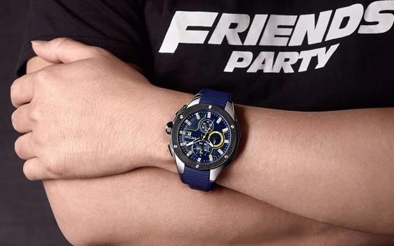 Relógio De Pulso Original Masculino Militar Frete Gratuito!!